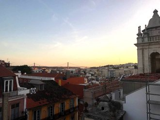 Sonnenuntergang_Blick_über_Lissabon